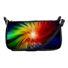 Lamp Light Galaxy Space Color Shoulder Clutch Bags by Alisyart