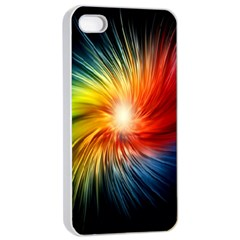 Lamp Light Galaxy Space Color Apple Iphone 4/4s Seamless Case (white) by Alisyart