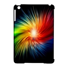Lamp Light Galaxy Space Color Apple Ipad Mini Hardshell Case (compatible With Smart Cover)