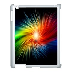 Lamp Light Galaxy Space Color Apple Ipad 3/4 Case (white)