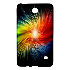 Lamp Light Galaxy Space Color Samsung Galaxy Tab 4 (8 ) Hardshell Case