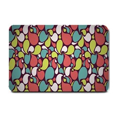 Leaf Camo Color Flower Small Doormat
