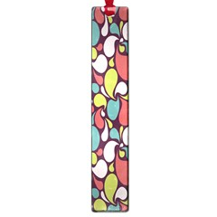 Leaf Camo Color Flower Large Book Marks