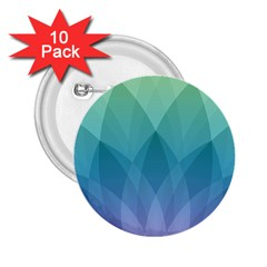 Lotus Events Green Blue Purple 2 25  Buttons (10 Pack)