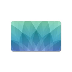 Lotus Events Green Blue Purple Magnet (name Card)