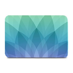 Lotus Events Green Blue Purple Plate Mats by Alisyart