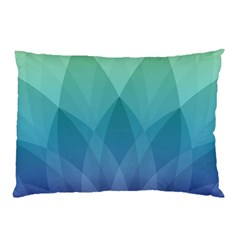Lotus Events Green Blue Purple Pillow Case