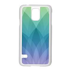 Lotus Events Green Blue Purple Samsung Galaxy S5 Case (white)