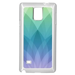Lotus Events Green Blue Purple Samsung Galaxy Note 4 Case (white) by Alisyart