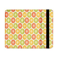 Lime Orange Fruit Slice Color Samsung Galaxy Tab Pro 8 4  Flip Case by Alisyart