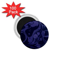 Marble Blue Marbles 1 75  Magnets (100 Pack)