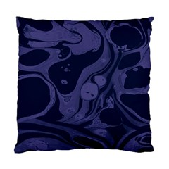 Marble Blue Marbles Standard Cushion Case (two Sides) by Alisyart