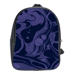 Marble Blue Marbles School Bags (xl)