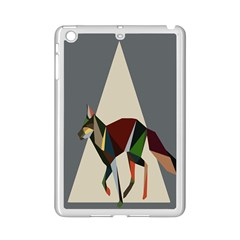 Nature Animals Artwork Geometry Triangle Grey Gray Ipad Mini 2 Enamel Coated Cases