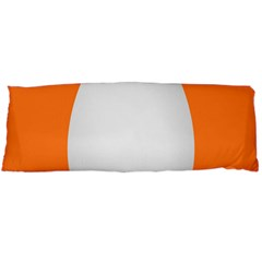 Orange White Egg Easter Body Pillow Case Dakimakura (two Sides) by Alisyart