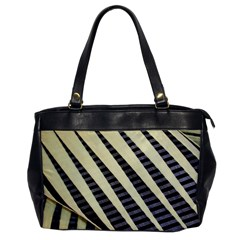 Line Chevron Triangle Grey Office Handbags by Alisyart
