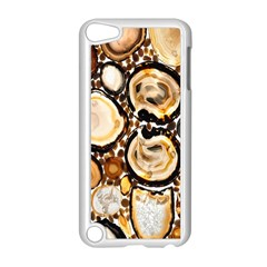 Natural Agate Mosaic Apple Ipod Touch 5 Case (white) by Alisyart