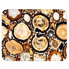 Natural Agate Mosaic Double Sided Flano Blanket (medium)