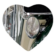 Auto Automotive Classic Spotlight Heart Ornament (two Sides)