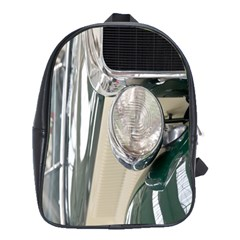 Auto Automotive Classic Spotlight School Bags(large)  by Nexatart