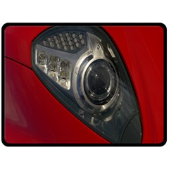 Auto Red Fast Sport Fleece Blanket (large)  by Nexatart