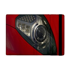 Auto Red Fast Sport Apple Ipad Mini Flip Case by Nexatart