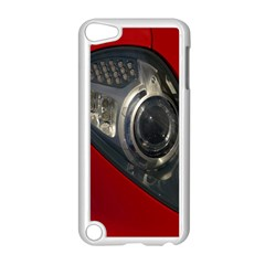 Auto Red Fast Sport Apple Ipod Touch 5 Case (white) by Nexatart