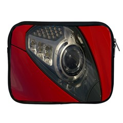 Auto Red Fast Sport Apple Ipad 2/3/4 Zipper Cases by Nexatart