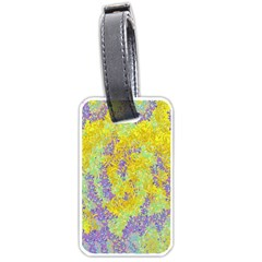 Backdrop Background Abstract Luggage Tags (two Sides) by Nexatart