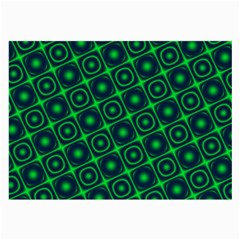 Plaid Green Light Large Glasses Cloth by Alisyart