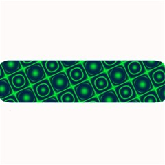 Plaid Green Light Large Bar Mats by Alisyart