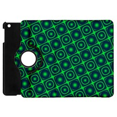 Plaid Green Light Apple Ipad Mini Flip 360 Case by Alisyart