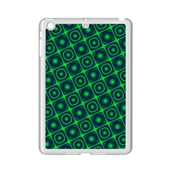 Plaid Green Light Ipad Mini 2 Enamel Coated Cases