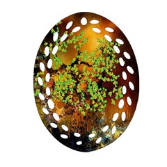 Backdrop Background Tree Abstract Ornament (oval Filigree)