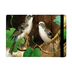 Backdrop Colorful Bird Decoration Apple Ipad Mini Flip Case