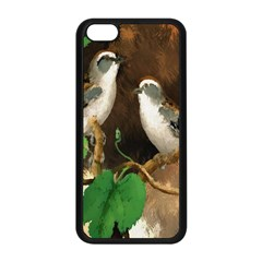 Backdrop Colorful Bird Decoration Apple Iphone 5c Seamless Case (black) by Nexatart