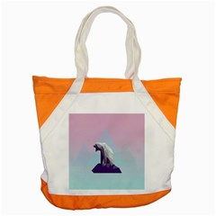 Polar Bears Animals White Accent Tote Bag