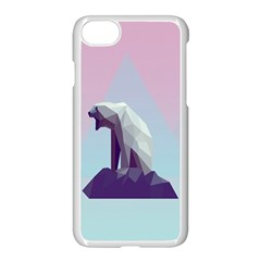 Polar Bears Animals White Apple Iphone 7 Seamless Case (white)