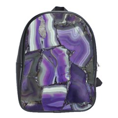 Purple Agate Natural School Bags(large)