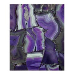 Purple Agate Natural Shower Curtain 60  X 72  (medium)