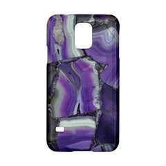 Purple Agate Natural Samsung Galaxy S5 Hardshell Case