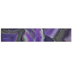 Purple Agate Natural Flano Scarf (large)