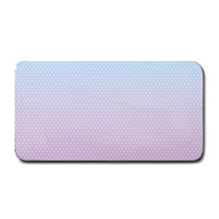 Simple Circle Dot Purple Blue Medium Bar Mats
