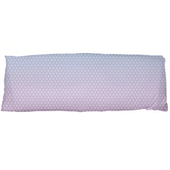 Simple Circle Dot Purple Blue Body Pillow Case Dakimakura (two Sides) by Alisyart