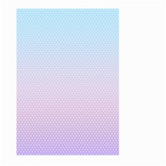Simple Circle Dot Purple Blue Large Garden Flag (two Sides)