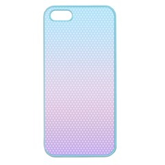 Simple Circle Dot Purple Blue Apple Seamless Iphone 5 Case (color) by Alisyart