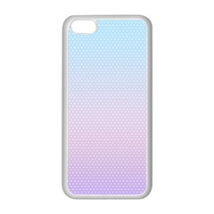 Simple Circle Dot Purple Blue Apple Iphone 5c Seamless Case (white)