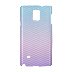Simple Circle Dot Purple Blue Samsung Galaxy Note 4 Hardshell Case