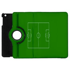 Soccer Field Football Sport Green Apple Ipad Mini Flip 360 Case by Alisyart