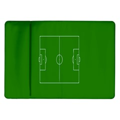Soccer Field Football Sport Green Samsung Galaxy Tab 10 1  P7500 Flip Case